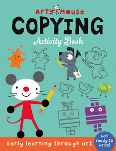 Arty Mouse Copying Activity Book