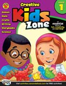 Creative Kids Zone Grade 1 (Games, Math, Crafts, Writing, Storybooks, Science)