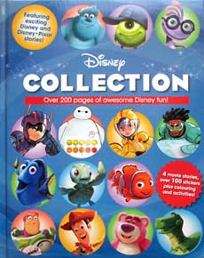 Disney Collection (4 movie stories, over 100 stickers plus colouring and activities!)