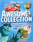 Disney Pixar Awesome Collection (4 adventure stories, over 50 stickers plus colouring and activities!)