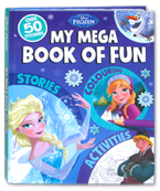 Disney Frozen My Mega Book of Fun Over 50 Stickers (Stories, Colouring, and Activities)