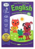 English Leap Ahead Workbook Home Learning Made Fun With Fun Activities and Stickers (Age 3-4y)
