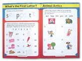 English Leap Ahead Workbook Home Learning Made Fun With Fun Activities and Stickers (Age 4-5y)