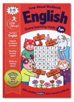 English Leap Ahead Workbook Home Learning Made Fun With Fun Activities and Stickers (Age 5-6y)