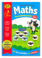 Maths Leap Ahead Workbook Home Learning Made Fun With Fun Activities and Stickers (Age 4-5y)