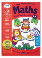 Maths Leap Ahead Workbook Home Learning Made Fun With Fun Activities and Stickers (Age 5-6y)