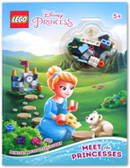 Lego Disney Princess - Meet the Princesses Activity Book (includes Lego pieces)