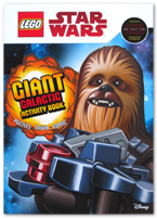 Lego Star Wars : Giant Galactic Activity Book (Puzzle, Trivia, Comic)