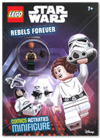 Lego Star Wars : Rebels Forever (Comics Activities + Lego star wars minifigure)