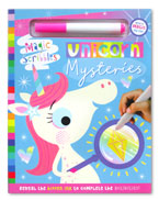 Unicorn Mysteries Magic Scribbles Book With a Magic Ink Pen