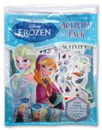 Disney Frozen Activity Pack (Includes: Activity Book, 4 Colouring Pencils, Colouring Book, Stickers)