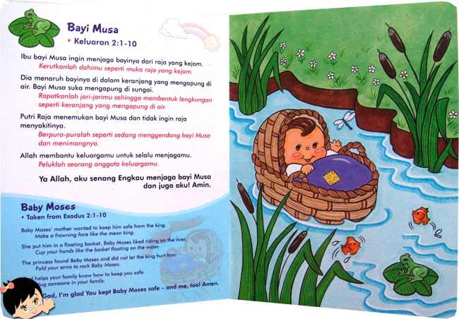 Alkitab Kecil Cerita Bergambar Bestselling Baby Bible Series