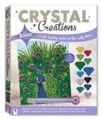 Crystal Creation Proud Peacock With 2000+ Crystals (12 Vivid Colours!)