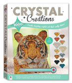 Crystal Creation Wild Tiger With 2000+ Crystals (12 Vivid Colours!)