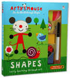 Arty Mouse See the World through SHAPES with 11 shapes & marker