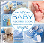My Baby Record Book BLUE Featuring Traditional Nursery Rhymes