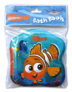 Disney Pixar Finding Nemo Bath Book