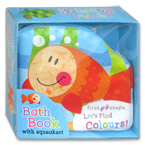 First Steps Let's Find Colours! Squeaky Bath Book (FISH)