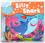 Magical Bath Book Silly Shark Watch the Cover Change Colour in Warm Water!