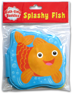 SPLASHY FISH Bath Time Buddies - Squeaky Bath Book