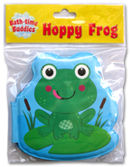 HOPPY FROG Bath Time Buddies - Squeaky Bath Book
