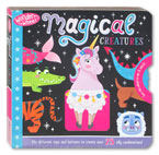 Wonder Wheel Magical Creatures Board Book - Turn the Wheel to Mix & Match!