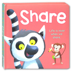 SHARE Board Book - Life is Nicer When We Share