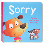SORRY Board Book - The Little Word That goes A Long Way