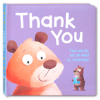 THANK YOU Board Book - Two Words We All Need to Remember