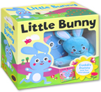 (SALE!!) Little Bunny Board Book and Cuddly Bunny Doll Box Set