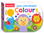 Fisher Price - Learn with Monkey Colours Board Book