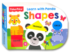 Fisher Price - Learn with Panda Shapes Board Book