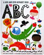 ABC a Hide-and-Seek Alphabet Board Book