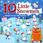 Counting Fun 10 Little Snowmen Board Book - Count down from 10 and back again!