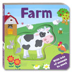 Farm Board Book With Lots of Pets to Meet