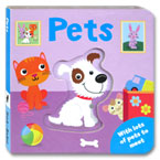 Pets Board Book With Lots of Pets to Meet