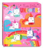 Five Little Unicorns Board Book