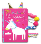 Magical Unicorns Board Book with Touch & Feel Tabs to Explore!