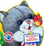 The Kitten and The Butterfly Animal Friends Board Book