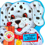 The Puppy and The Ladybird Animal Friends Board Book