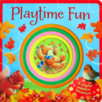 Playtime Fun Board Book with Colourful Peek-through Holes