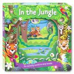 In the Jungle Board Book - An enchanting world to step inside