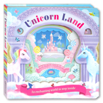 Unicorn Land Board Book - An enchanting world to step inside