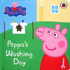 Peppa Pig Peppa's Washing Day Board Book