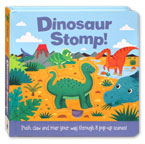 Dinosaur Stomp! (Push claw and roar your way through 8 pop-up scenes!)