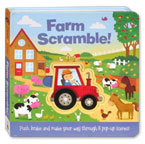 Farm Scramble! (Push, Brake and Make Your Way Through 8 Pop-Up Scenes!)