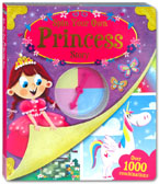 Spin Your Own Princess Story Book (Over 1000 Combinations)