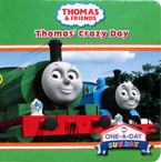 Thomas' Crazy Day - Thomas & Friends Board Book