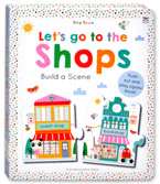 Tiny Town Let's Go to The Shops - Build a Scene Board Book (Push out and play jigsaw book!)