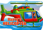 Harry's Helicopter Shaped Vehicle Board Book